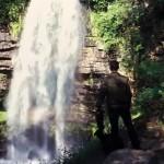 Henrhyd Falls (Batman's Bat-Cave!)